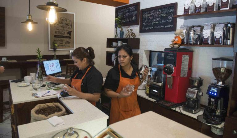 Boom In Nicaragua Coffee Shops