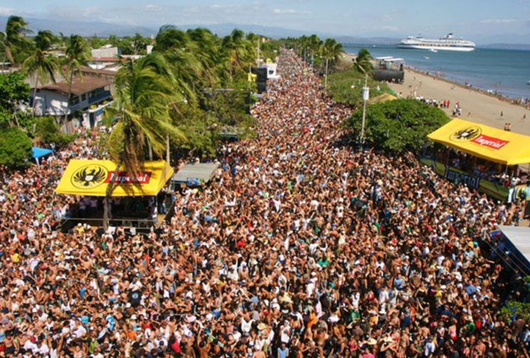 For The Second Year No Carnaval In Puntarenas
