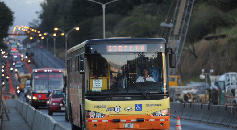 Public Transit Appears To Be The Solution To The Congestion Caused By The 'Platina'