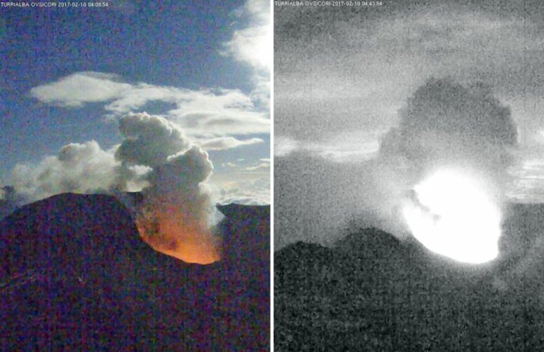 Is The Turrialba Readying To Blow?