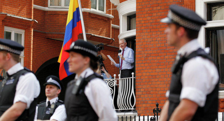 Time Is Running Out for WikiLeaks Founder Julian Assange in Ecuadorian Embassy
