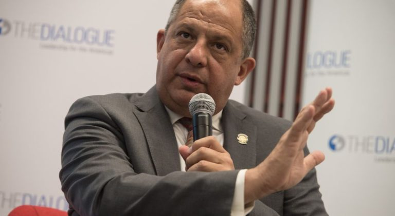 President Solis In Washington Expressed Concern About The Effect Of Possible Deportations