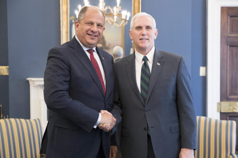 The President's Meeting U.S. Vice President Mike Pence