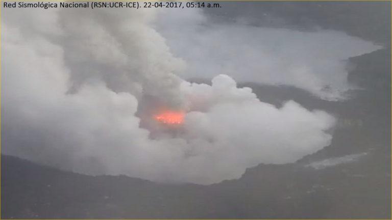 Poas Volcano Keeps On Ticking!