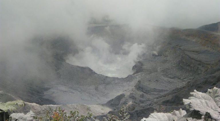 The Poas Volcano Has Left Behind Its Relative Calm
