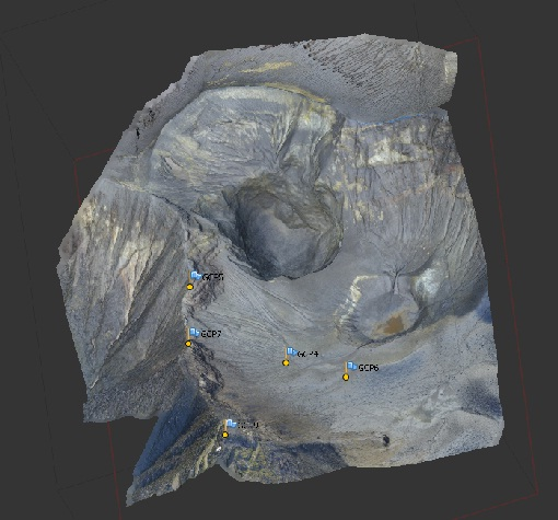 Drone Provides A Look Inside Turrialba's Active Crater