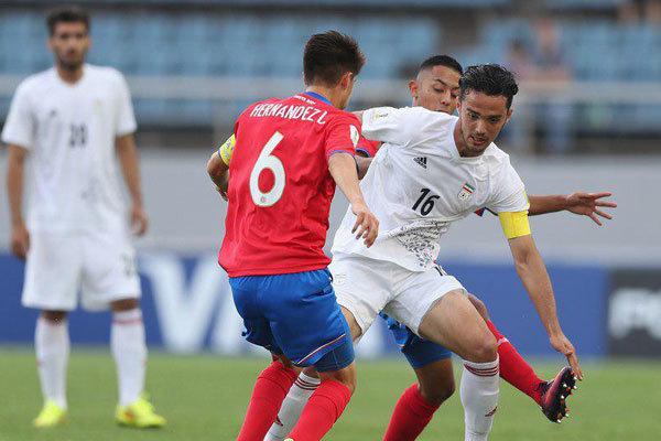 Iran defeats Costa Rica in FIFA U-20 World Cup