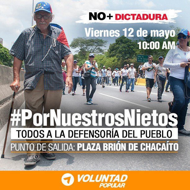 Elderly Venezuelans Take to the Streets to Demand a Better Future for their Grandchildren