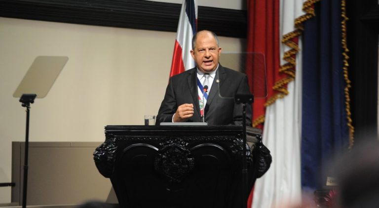 """Costa Rica Looks """"Brighter Now"""", says President Solis"""