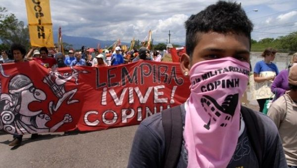 Indigenous Hondurans Fight 'Right-Wing Invaders' Burning Crops