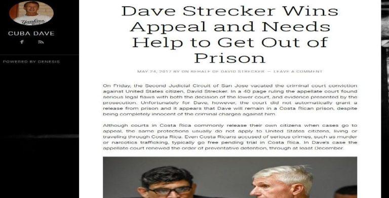 "David Strecker aka ""Cuba Dave"" Wins Appeal, Says Website Bearing His Name"