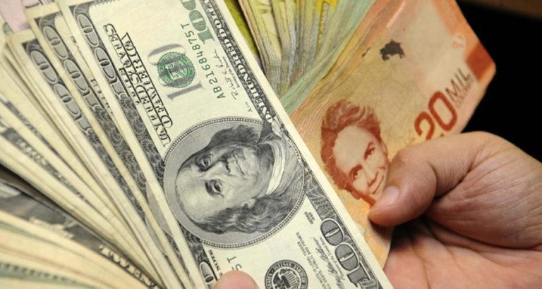 Central Bank intervenes to remove upward pressure on dollar exchange rate