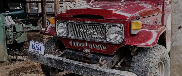 The Vintage FJ Cruiser Frame-Off Restoration Process