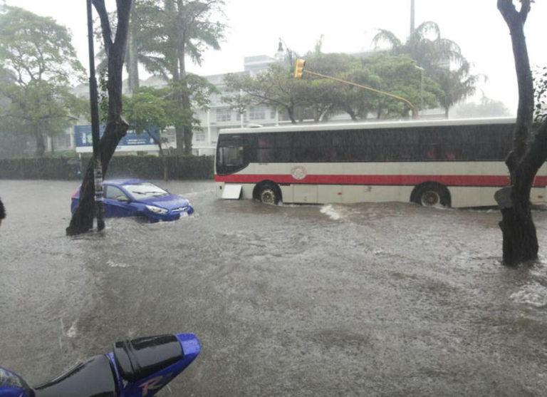 Heavy Rains Thursday Afternoon Flood Paseo Colon