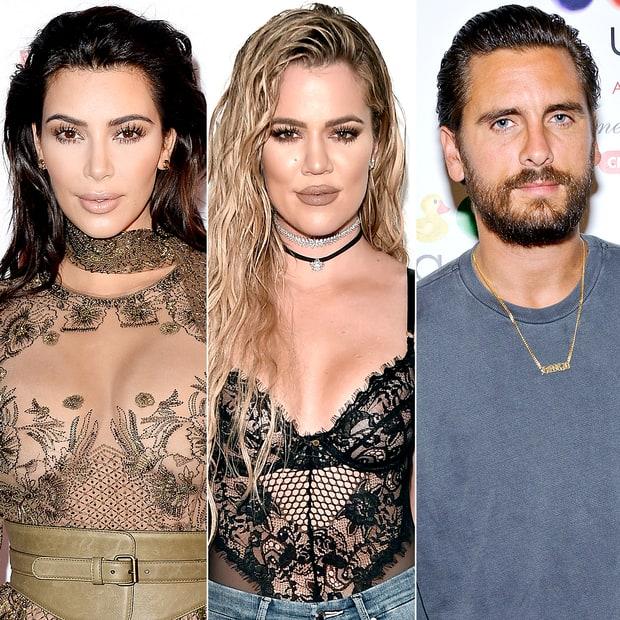 Kim, Khloe Kardashian Throw Water on Scott Disick for Bringing Girl on Family Trip To Costa Rica