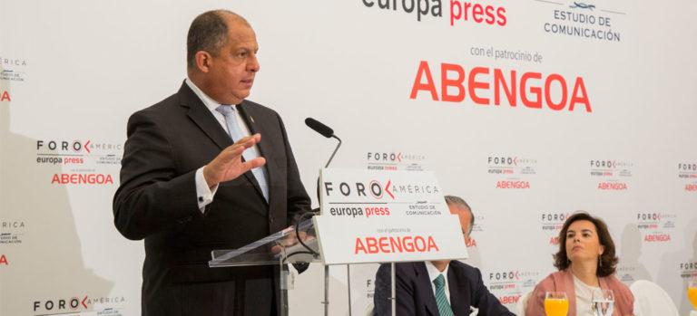 Solis Laments OAS Secretary General Almagro's Aggressive Approach to Venezuelan Crisis