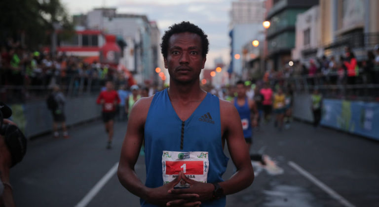 Total Control of Traffic Allowed Athletes To Run The New San José Marathon At Pleasure
