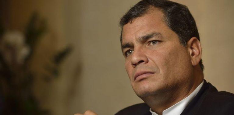 "Former Ecuador President Correa Calls Trump ""Stupid"" and Brazil President a ""Traitor"""