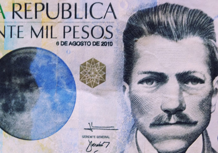 Colombia's peso at 7-month high as global oil prices tumble