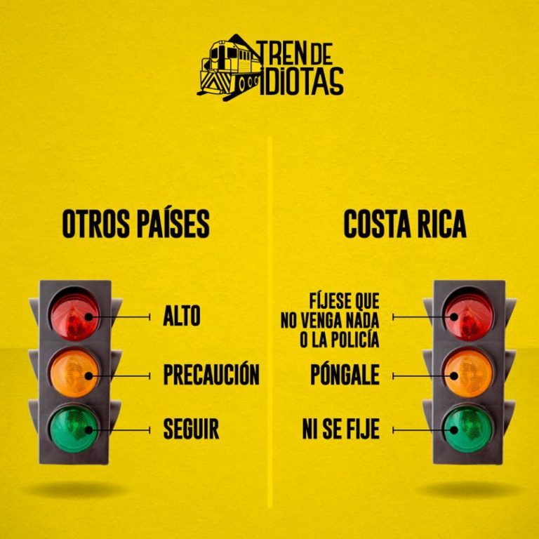 Traffic Lights In Costa Rica Explained