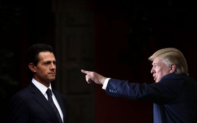 Trump Reiterates to Peña Nieto: Mexico Has To Pay For The Wall