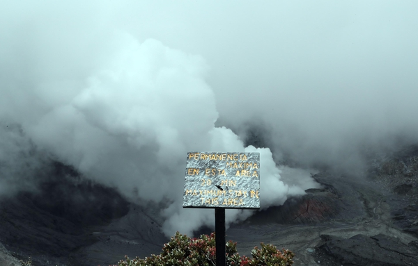 Earthquakes and Seismic Swarm In The Area of The Poas Volcano Raise Alert