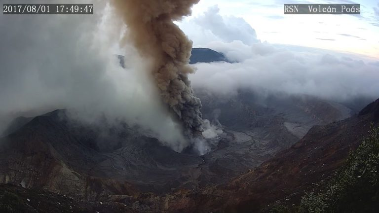 Costa Rica's Volcanos Not On The List Of 10 Most Active Around The World