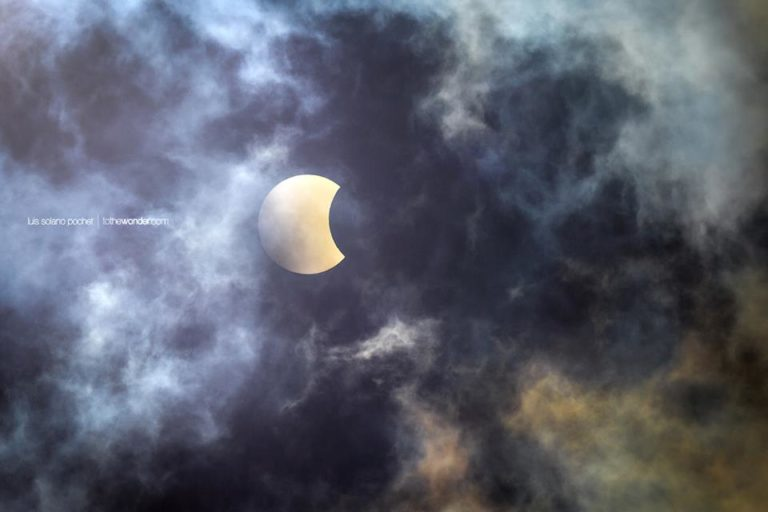 The Solar Eclipse 2017 From Costa Rica