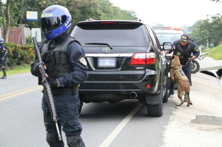 Driver Found With An AK-47, 9mm Guns, Ammunition and Wads of Cash In Car in Cuidad Colon