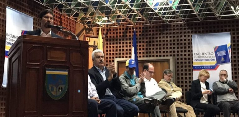 Opposition Calls Upon Venezuelan Society to Resist Illegitimate Constituent Assembly