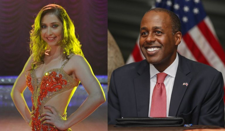 Costa Rica's Dancing With The Stars Pairs Former US Ambassador And Salsa Champion