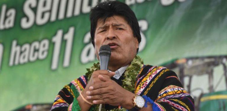 "Bolivia President Accuses US of ""Recolonizing"" Latin America through Venezuela"