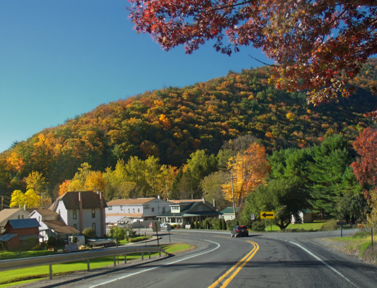 Travelling to Wilkes-Barre, Pennsylvania