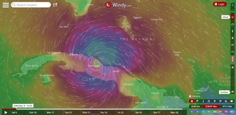 Hurricane Irma Slams Cuba's Coast