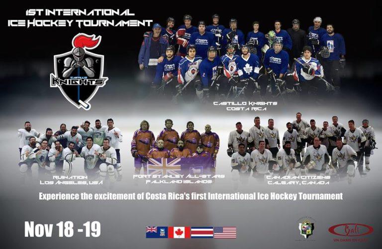Costa Rica's First-ever International Ice Hockey Tournament