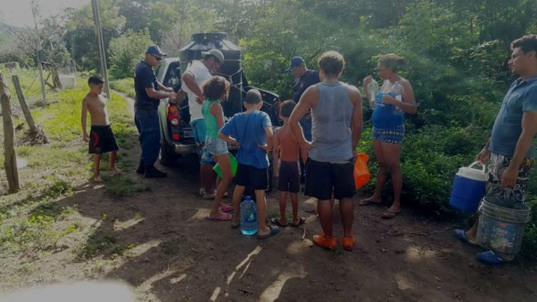 Coast Guard Continues To Provide Drinking Water To Communities Affected By Nate