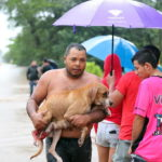 Inundaciones en Santa Cruz de Guanacaste