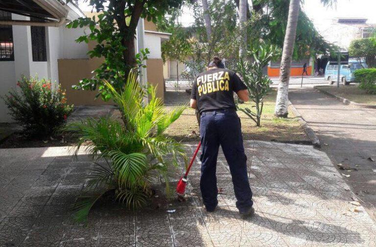 Cleaning and Embellishing Puntarenas