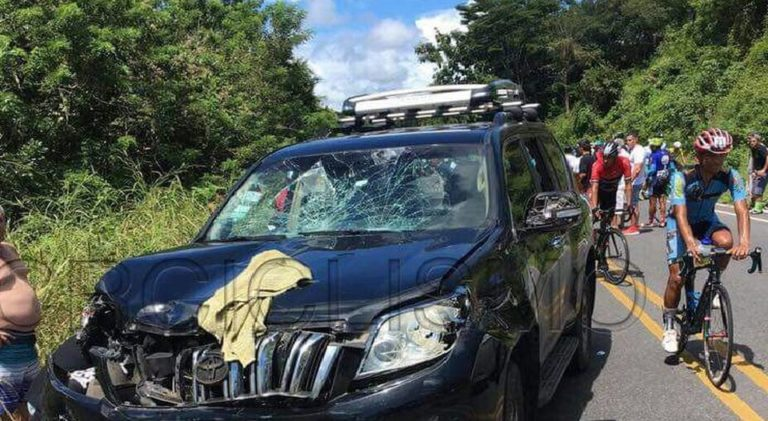 Vehicle Runs Over Six Cyclists During Race in Guanacaste