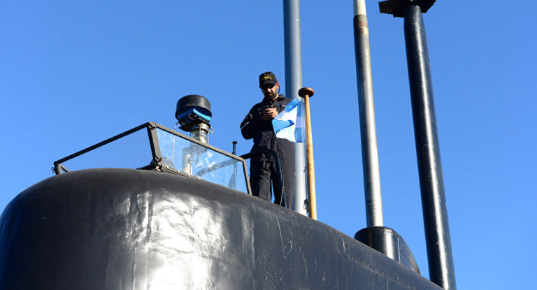 Argentine Submarine Goes Missing for Two Days, Major Search Op Underway