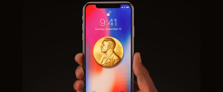 iPhone X: the link between the cellphone and the Nobel Prize of Economics