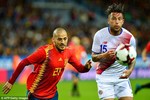 Spain Brings Costa Rica Back To Reality