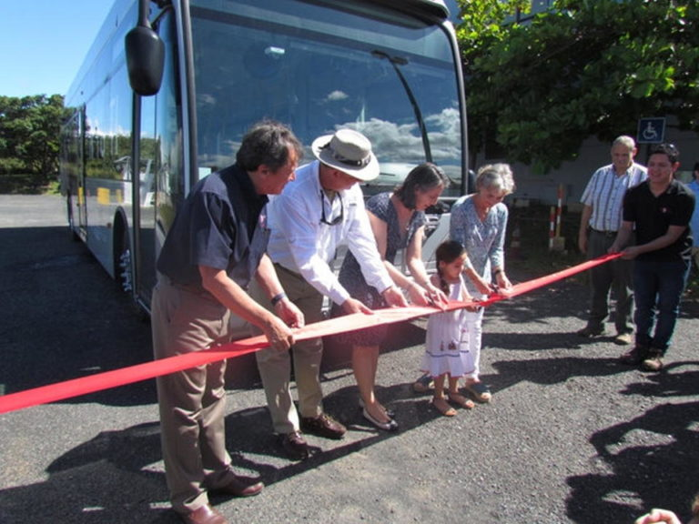 Hydrogen Powered Bus Started Operating in Liberia