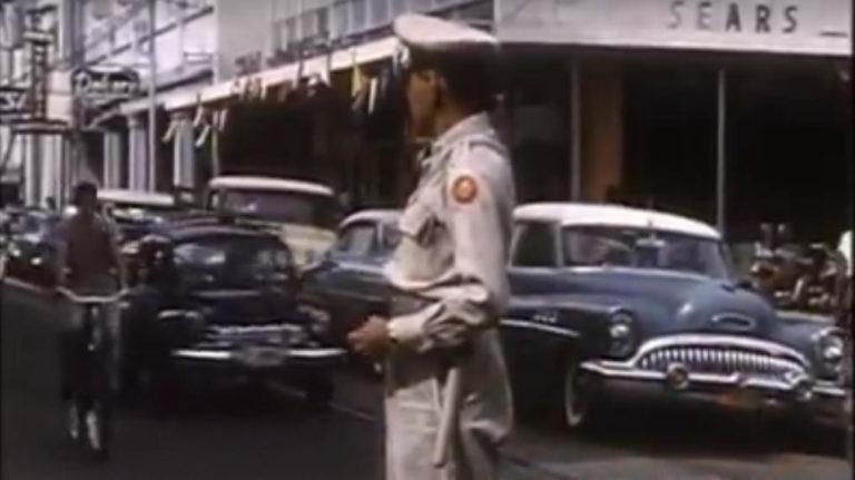 Short Video of San Jose in 1958
