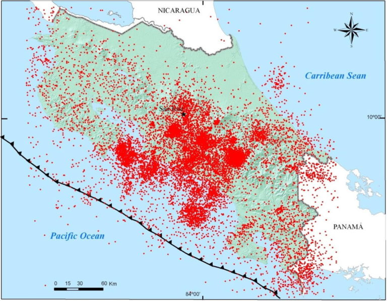 More Than 1,000 Aftershocks Recorded After Sunday's Earthquake In jaco