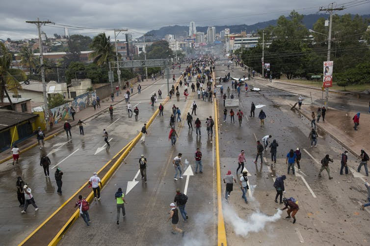 Honduras's election crisis is likely to end in violence
