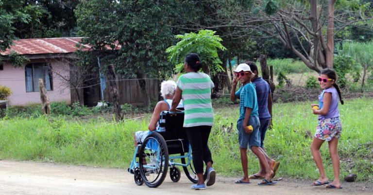 Adults and Children With Disabilities Receive Wheelchairs in Costa Rica