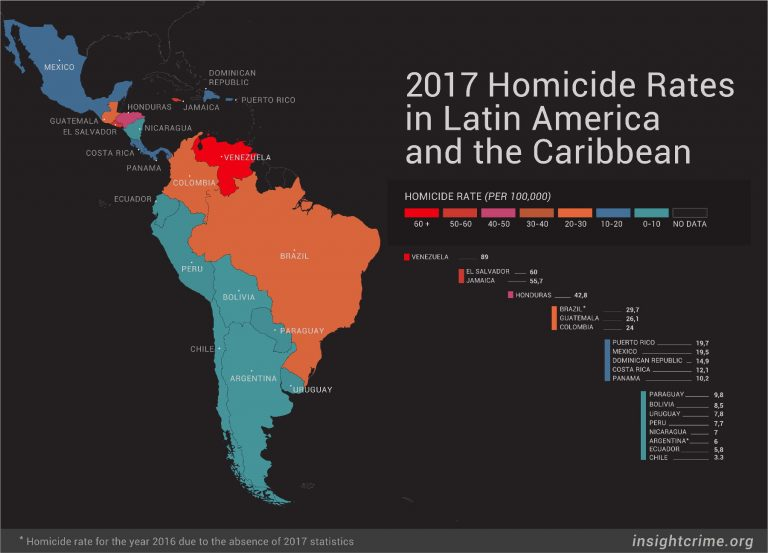 InSight Crime's 2017 Homicide Round-Up In Latin America & Caribbean