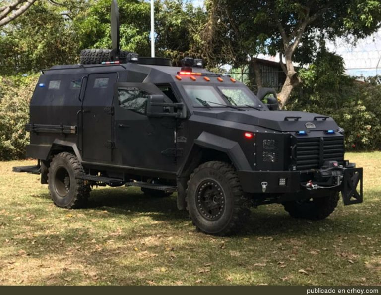 """The """"Beasts"""" have Arrived: US Embassy Donated Armored Cars"""