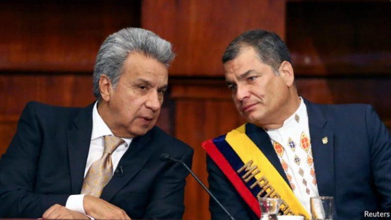 Ecuador's President Lenín Moreno tries to bury the legacy of his predecessor